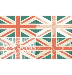 english flags vector image vector image