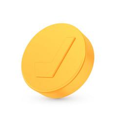 golden hockey award concept shiny realistic vector image