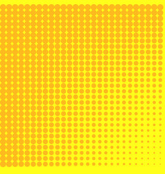 pop art background to the point go from yellow to vector image