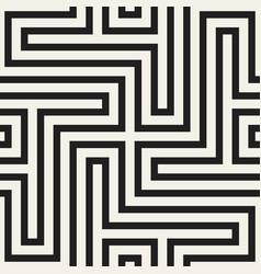 seamless cross lines pattern modern stylish vector image
