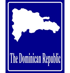 The Dominican Republic vector