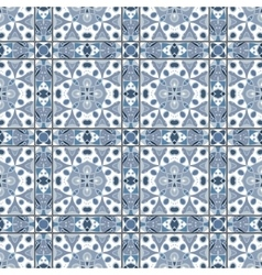 Collection of ceramic tiles vector image