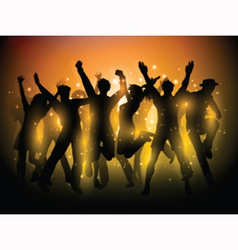 party people background 1306 vector image