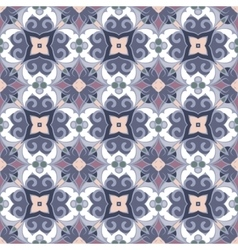 Seamless symmetrical pattern vector image vector image