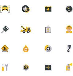 Car service icon set Part 1 vector image
