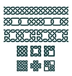 Celtic Design Element vector image vector image