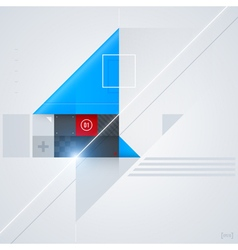 Abstract design element vector image
