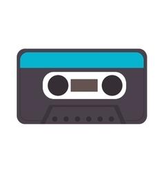 cassette retro object vector image