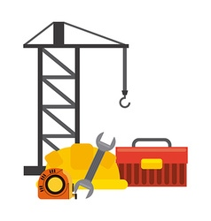 construction concept vector image