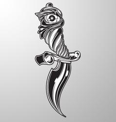 Custom knife vector