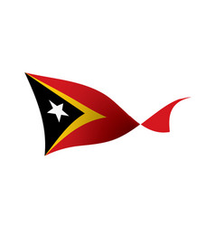 East timor flag vector