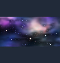 Galaxy space background night sky sith star vector