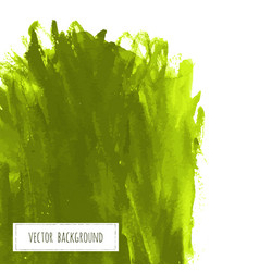 Greenery hand paint watercolor grass texture vector