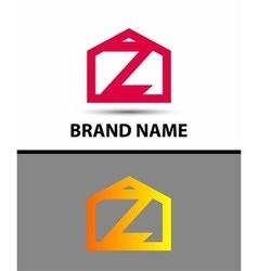Letter Z logo symbol icon vector image