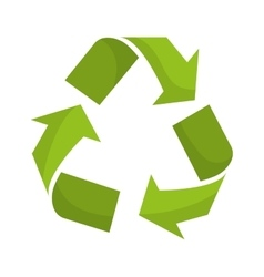 Recycle icon Ecology design graphic vector image