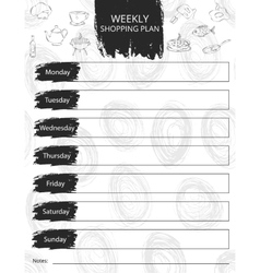 Shopping sheet It can be vector