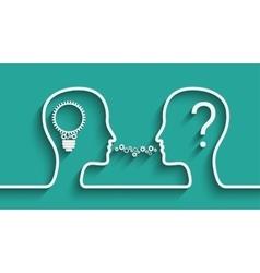 Creating Idea concept vector image