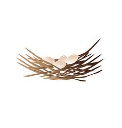 nest vector image