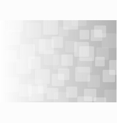 Abstract square on gray background vector