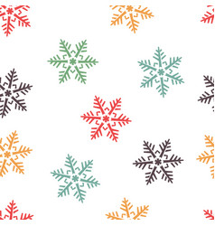 abstract winter seamless background with vector image