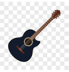 Acoustic guitar musical instruments vector
