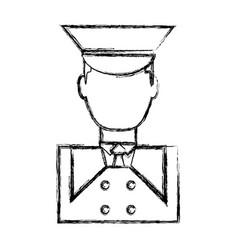 bellboy man icon vector image