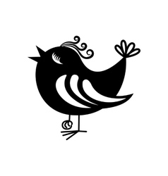 Bird icon symbol vector image
