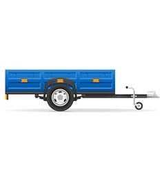 Car trailer 01 vector