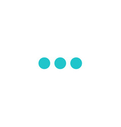 Digital minus sign display board round dot vector