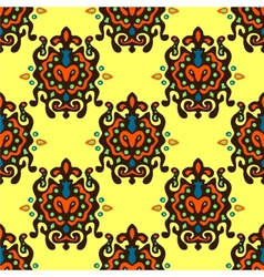 Ethnic Absrtract Seamless Pattern vector image