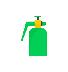garden spray bottle icon flat style vector image