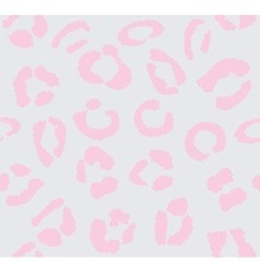 leopard light pink vector image