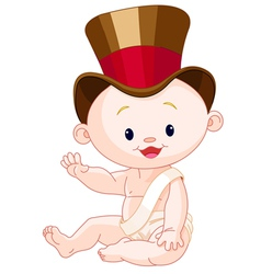 Magic baby vector image
