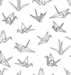Seamless pattern background of hand drawn doodle vector image