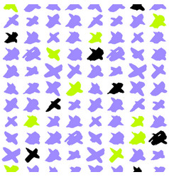 cross trendy seamless pattern vector image