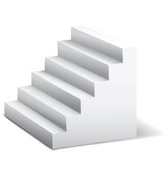 3d stairway vector