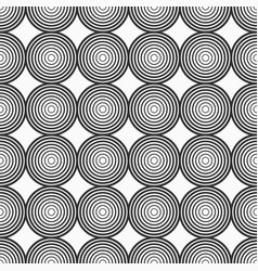 abstract seamless pattern circles vector image