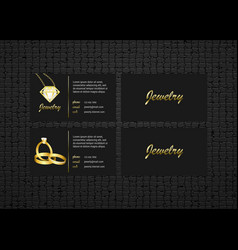 business card concept bussines card template vector image