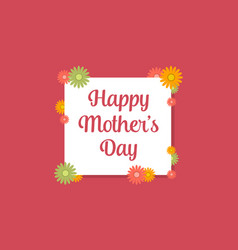 Happy mother day style collection vector