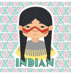 Indians Man vector