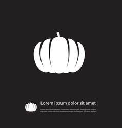 Isolated halloween icon plant element can vector
