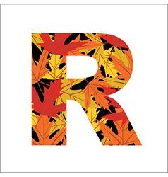 R Letter vector