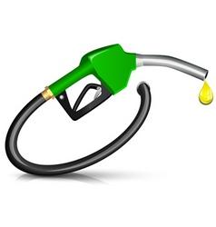 gasoline fuel nozzle vector image