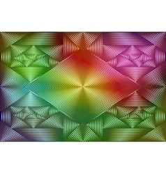 Geometric coloring background vector image vector image