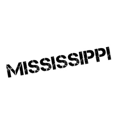 Mississippi rubber stamp vector