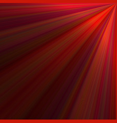 Red abstract ray background design - graphic from vector