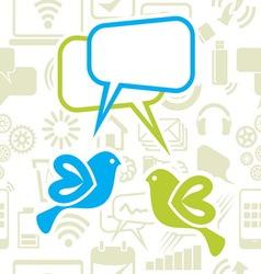 Social network sa pticama kolor1 resize vector