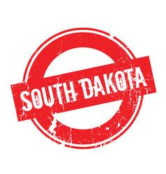 South dakota rubber stamp vector