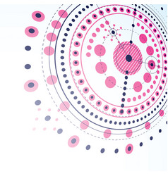 Technical plan magenta abstract engineering draft vector