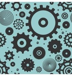 Pattern Gears vector image